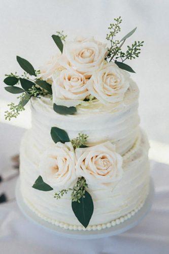 جدیدترین مدلهای کیک عروسی دو طبقه که میتوانید از ایدهی آنها الهام بگیرید