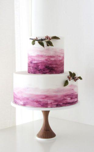 جدیدترین مدل های کیک عروسی دو طبقه