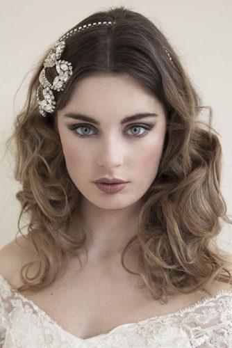 ایدههایی برای آرایش عروس با الهامگیری از آرایش عروسهای اروپایی