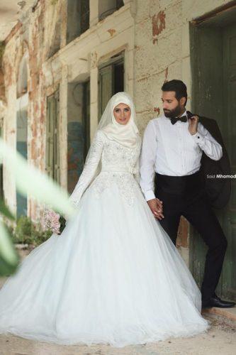 مدل لباس عروس جدید برای عروس خانمهای شیک پوش ایرانی