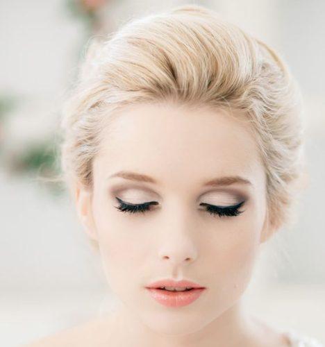 مدل آرایش لایت عروس برای خانمهای ساده پسند