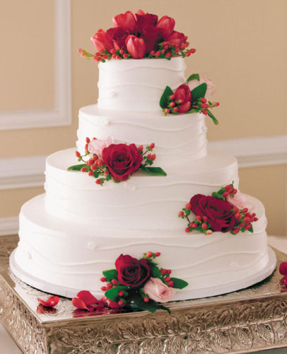 جدیدترین مدل کیک عروسی برای جشنهای عروسی مجلل که مهمانان زیادی دارند