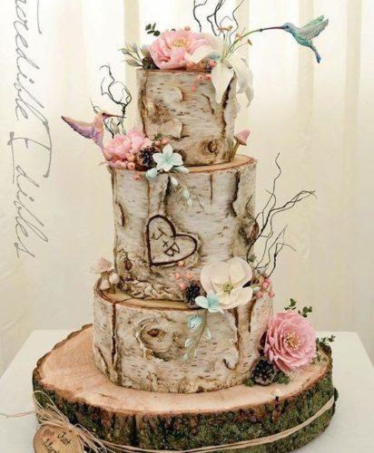 یک طرح خاص و شیک برای کیک جشن عروسی