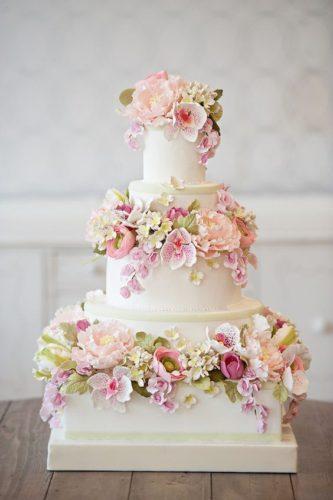 کیک عروسی ساده برای ساده پسندها