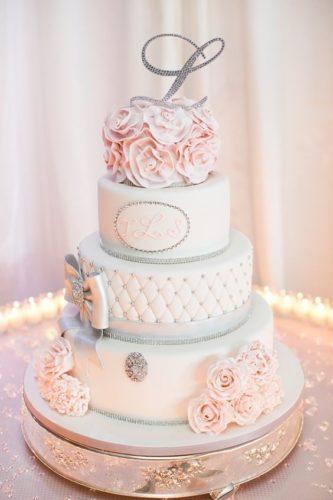 مدل کیک عقد زیبا برای جشنهای شیک