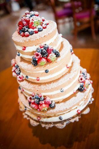 کیک عروسی میوهای