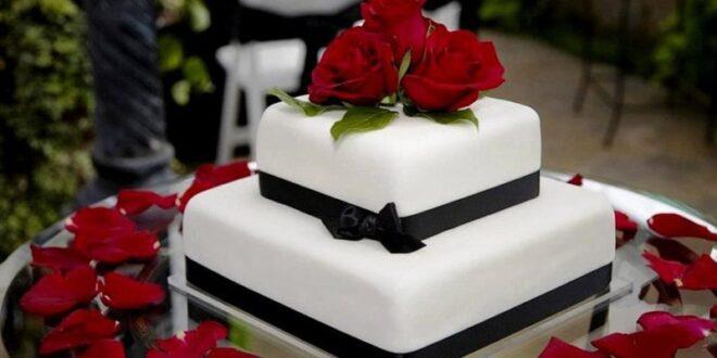 کیک عروسی فوندانت : چگونه یک کیک عروسی زیبا با روکش فوندانت درست کنیم؟