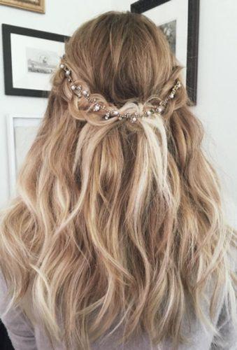 مدل موی عروس : نمونههای مدل موی عروس با استفاده از بافت مو