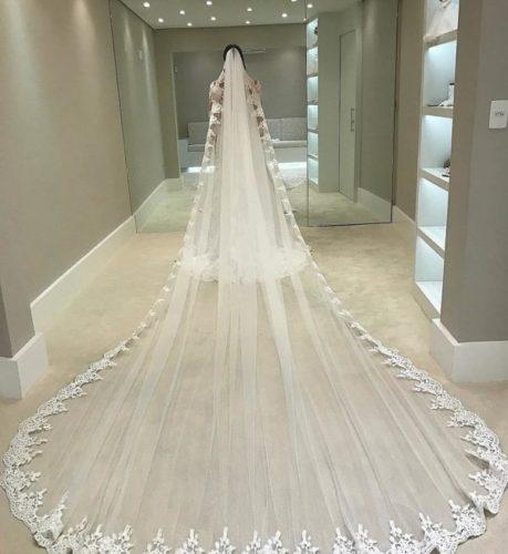 طول تور عروس