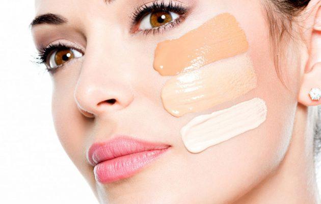 زیرسازی آرایش صورت