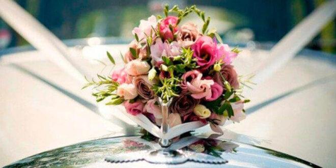 چندین روش ارزان برای گل آرایی ماشین عروس