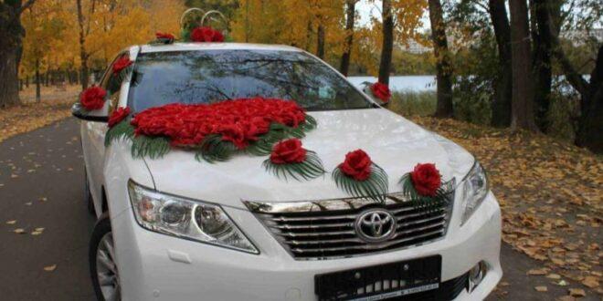 تزئين كردن ماشين عروسى