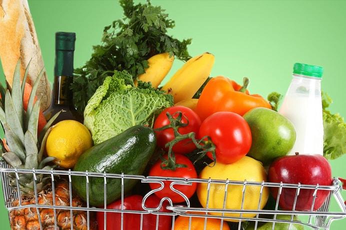 میوه ها و سبزیجات تازه و فصلی